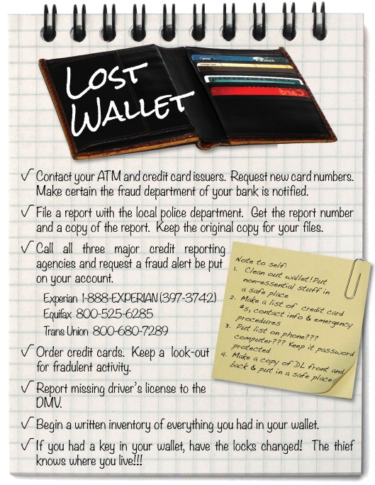 I Lost My Wallet!